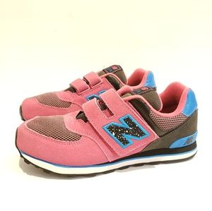 New Balance KV574 Outside In Pink/Blue  size 4.5